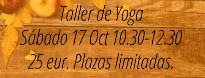 Taller de yoga en Gijón